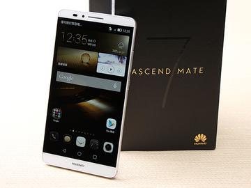 華為6吋巨屏機Ascend Mate7 功能進化加入指紋辨識