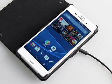 Sony Z3無線充電組 專用皮套WCR14、底座WCH10體驗