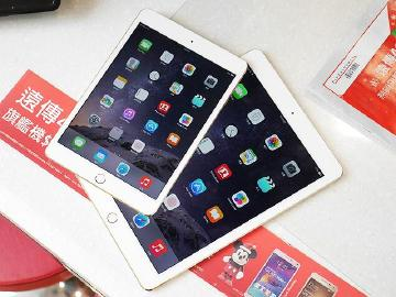 台灣版iPad Air 2、iPad mini 3快速動手玩