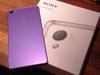 郭雪芙曬Sony Z3淡紫新色 預告台灣命名「微薰紫」