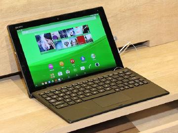 Sony Xperia Z4 Tablet防水、纖薄、2K螢幕【MWC 2015】