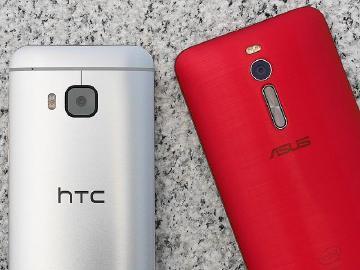 本土機皇之爭!HTC M9、華碩ZenFone 2比拼
