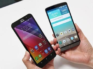 到底像不像?華碩ZenFone 2、LG G3同台比拼