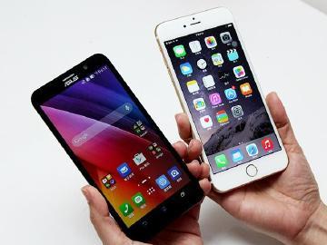 華碩ZenFone 2、iPhone 6 Plus拍照「大」對決!