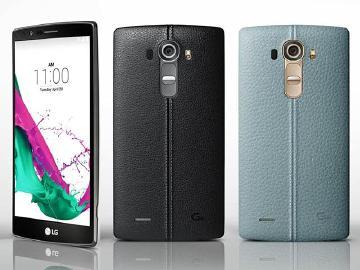 LG G4發表!皮革背蓋、2K螢幕、F1.8 OIS主相機