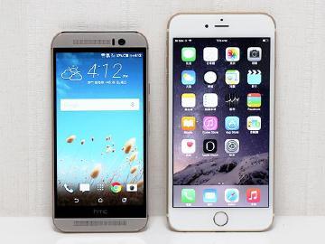 比一比!HTC M9、iPhone6 Plus外型、拍照PK