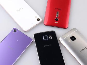 2015年4月手機分析:M9、ZenFone2、Desire626、Z3人氣高