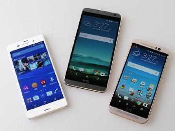 2015年5月手機分析:HTC E9+取代M9 Sony Z3人氣不衰