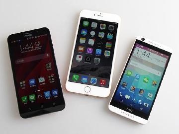 iPhone 6熱潮不減反增 蘋果5月重返台灣手機銷量龍頭