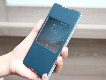 Sony Xperia Z3+專屬保護套SCR30 具同色系主題
