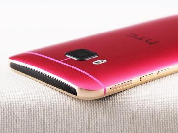[新色]絕對貴氣 高調至上 HTC One M9桃紅金圖賞