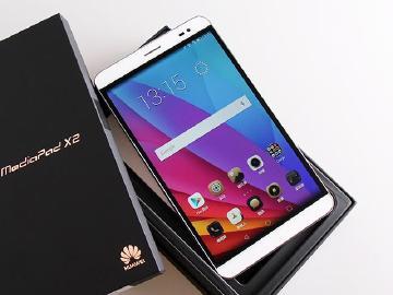 [開箱]7吋雙卡4G通話平板 華為MediaPad X2