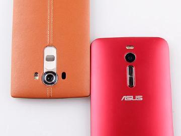 [比較]LG G4與華碩ZenFone 2外觀、相機PK