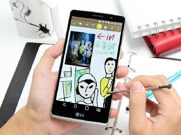 [評測]5.9吋大屏LG G4 Stylus 行動筆寫好便利