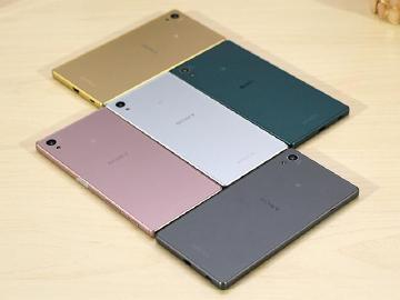 Sony Z5玫瑰石英粉登台 外觀圖賞速覽