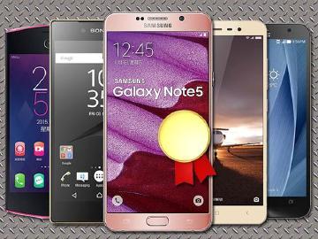 三星Note5獲最佳手機 Sony Z5P囊括多項肯定