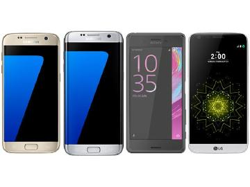 高通S820手機PK!三星S7、LG G5、Sony X Performance